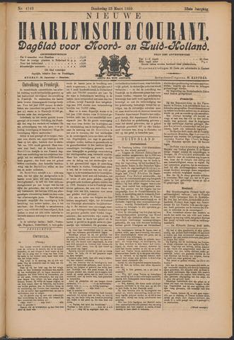 Nieuwe Haarlemsche Courant 1899-03-23