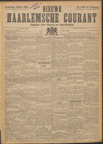 Nieuwe Haarlemsche Courant 1906-12-20