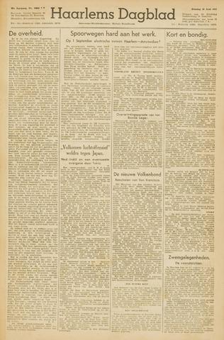 Haarlem's Dagblad 1945-06-26