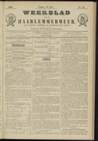 Weekblad van Haarlemmermeer 1884-04-18