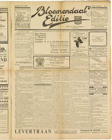 Bloemendaal's Editie 1928-10-06