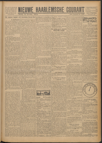 Nieuwe Haarlemsche Courant 1925-11-24