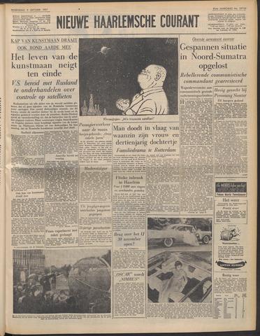 Nieuwe Haarlemsche Courant 1957-10-09