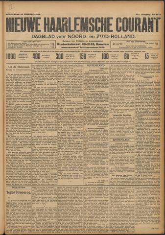 Nieuwe Haarlemsche Courant 1909-02-25