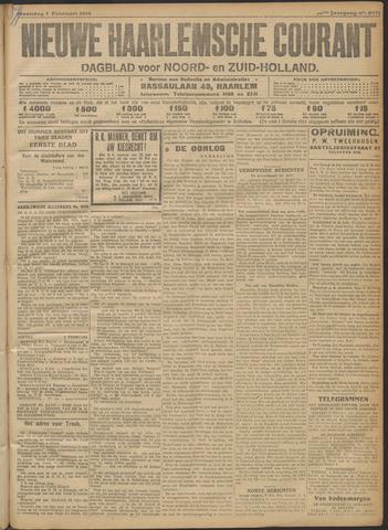 Nieuwe Haarlemsche Courant 1916-02-07