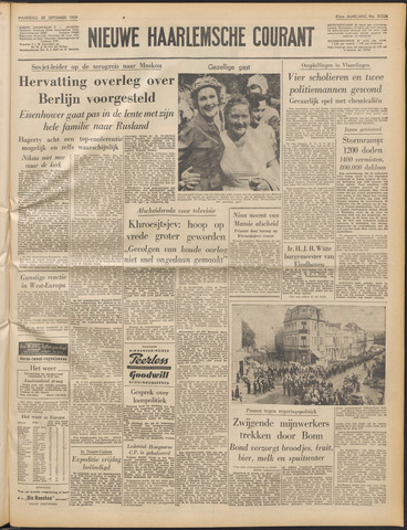 Nieuwe Haarlemsche Courant 1959-09-28