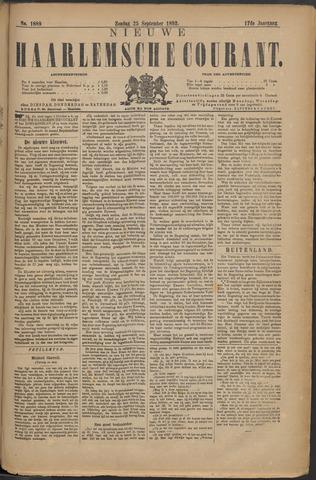 Nieuwe Haarlemsche Courant 1892-09-25