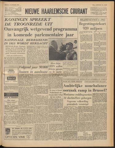 Nieuwe Haarlemsche Courant 1962-09-18