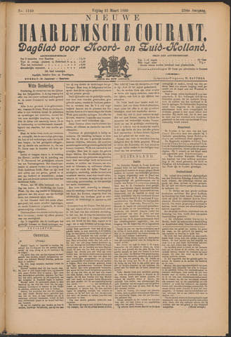 Nieuwe Haarlemsche Courant 1899-03-31