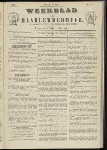 Weekblad van Haarlemmermeer 1883-04-06