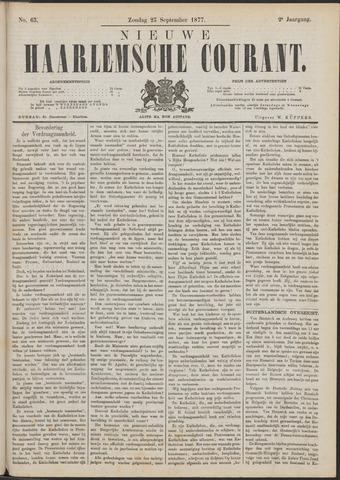 Nieuwe Haarlemsche Courant 1877-09-23