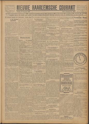 Nieuwe Haarlemsche Courant 1927-08-19
