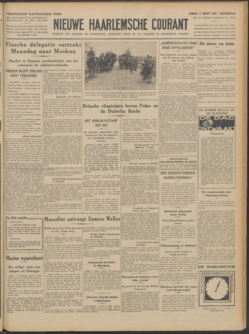 Nieuwe Haarlemsche Courant 1940-03-17