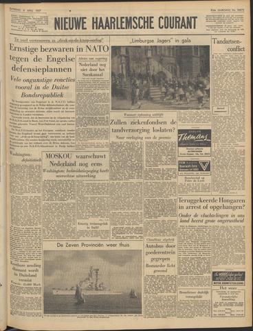 Nieuwe Haarlemsche Courant 1957-04-06