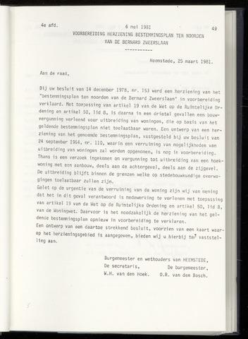 Raadsnotulen Heemstede 1981-05-06