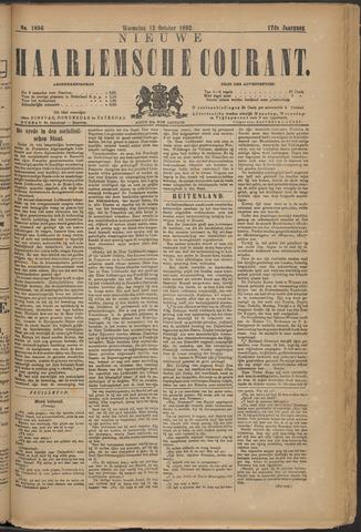 Nieuwe Haarlemsche Courant 1892-10-12