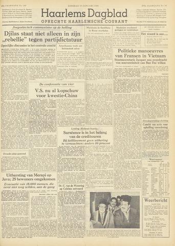 Haarlem's Dagblad 1954-01-19