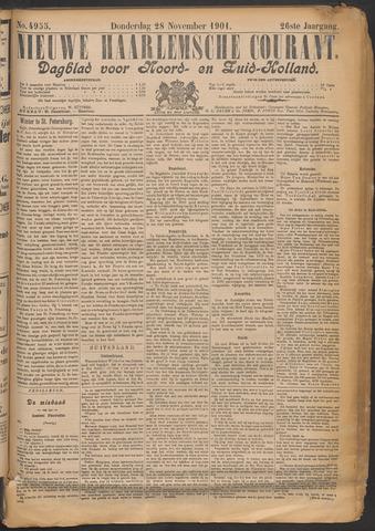 Nieuwe Haarlemsche Courant 1901-11-28