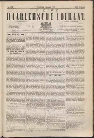 Nieuwe Haarlemsche Courant 1885-01-08