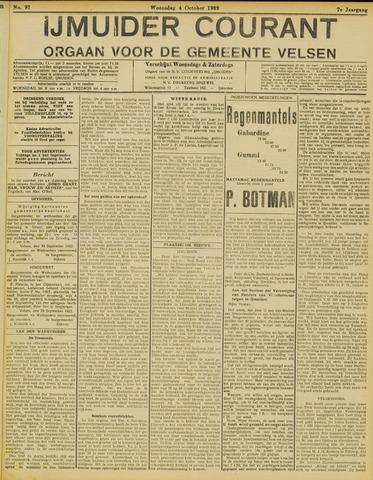 IJmuider Courant 1922-10-04