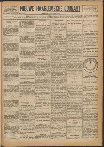 Nieuwe Haarlemsche Courant 1928-03-27