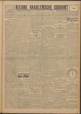 Nieuwe Haarlemsche Courant 1925-11-12