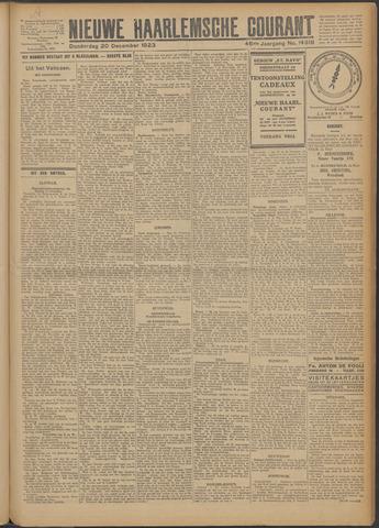 Nieuwe Haarlemsche Courant 1923-12-20