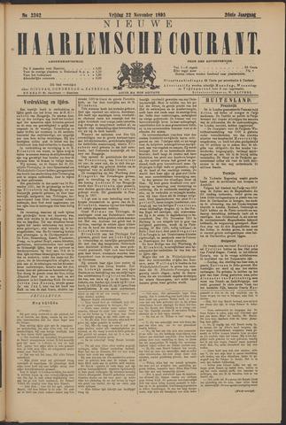 Nieuwe Haarlemsche Courant 1895-11-22