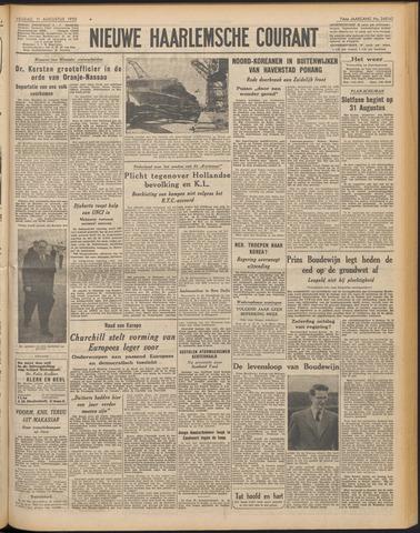 Nieuwe Haarlemsche Courant 1950-08-11