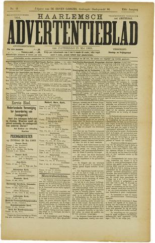 Haarlemsch Advertentieblad 1889-05-25