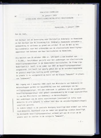 Raadsnotulen Heemstede 1989-01-26