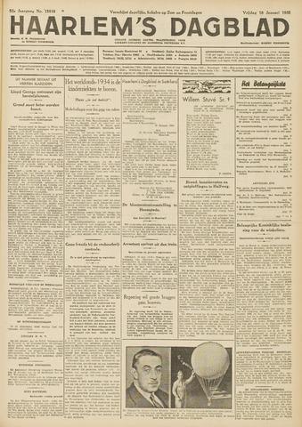 Haarlem's Dagblad 1935-01-18