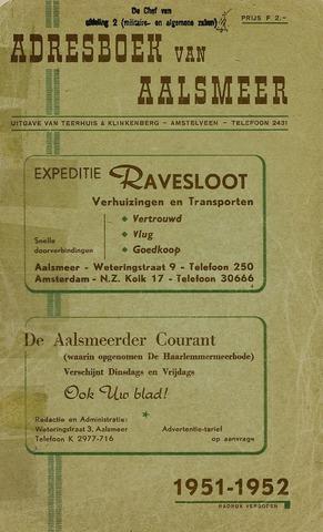Adresboeken Aalsmeer 1951