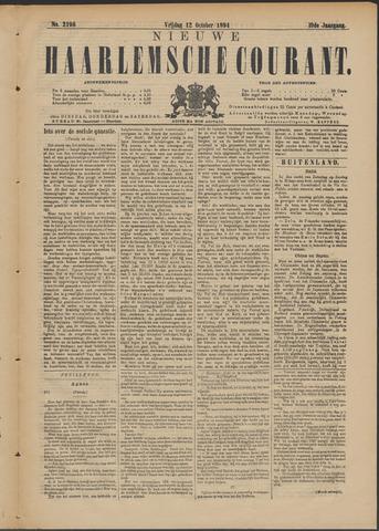 Nieuwe Haarlemsche Courant 1894-10-12