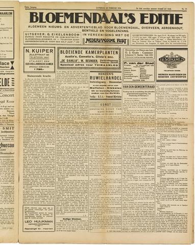 Bloemendaal's Editie 1926-02-20