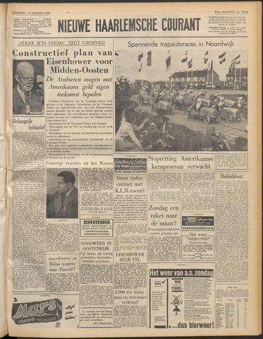 Nieuwe Haarlemsche Courant 1958-08-14