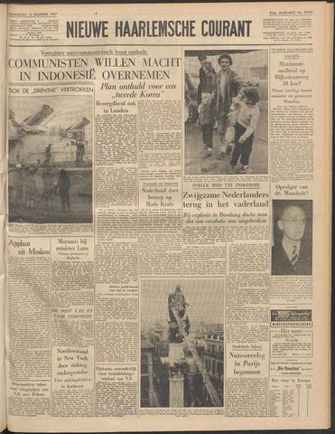 Nieuwe Haarlemsche Courant 1957-12-12