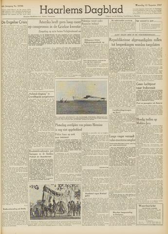 Haarlem's Dagblad 1947-08-13