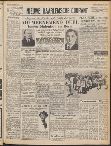 Nieuwe Haarlemsche Courant 1953-04-14