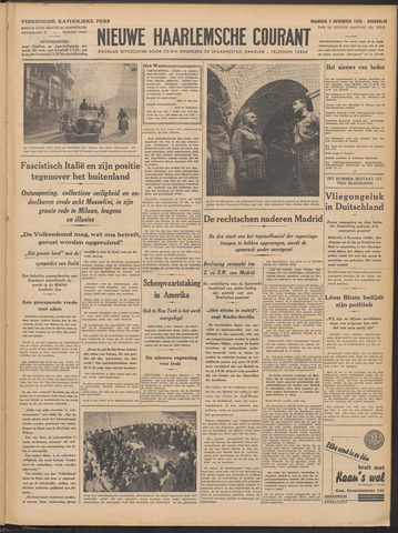 Nieuwe Haarlemsche Courant 1936-11-02