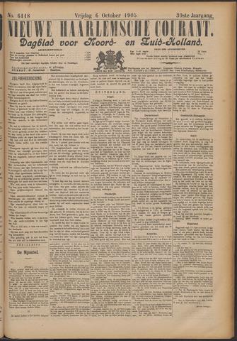 Nieuwe Haarlemsche Courant 1905-10-06