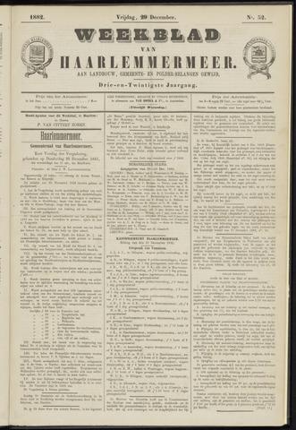 Weekblad van Haarlemmermeer 1882-12-29