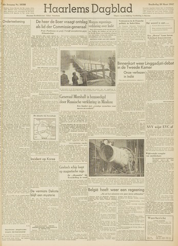 Haarlem's Dagblad 1947-03-20