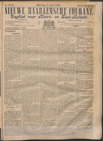 Nieuwe Haarlemsche Courant 1900-04-09