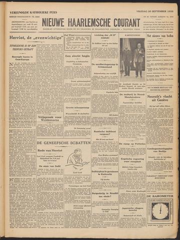 Nieuwe Haarlemsche Courant 1932-09-30