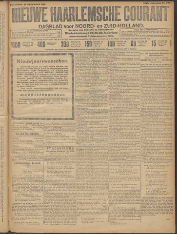 Nieuwe Haarlemsche Courant 1913-12-27