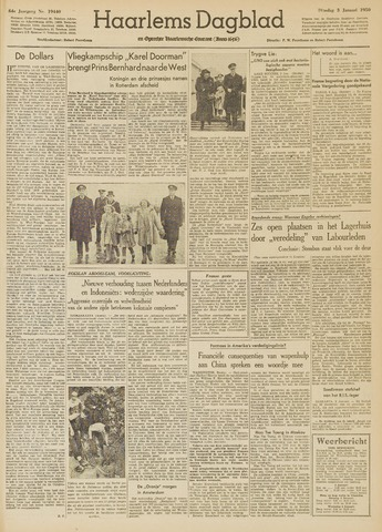Haarlem's Dagblad 1950-01-03
