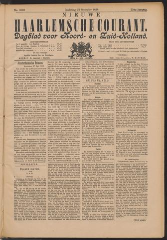 Nieuwe Haarlemsche Courant 1898-09-29
