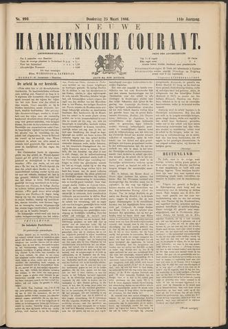 Nieuwe Haarlemsche Courant 1886-03-25