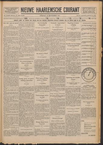 Nieuwe Haarlemsche Courant 1931-09-18